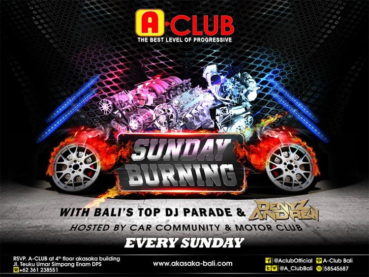 SUNDAY-BURNING